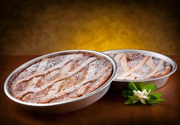 Neapolitan Pastiera, traditional Italian Easter cake.